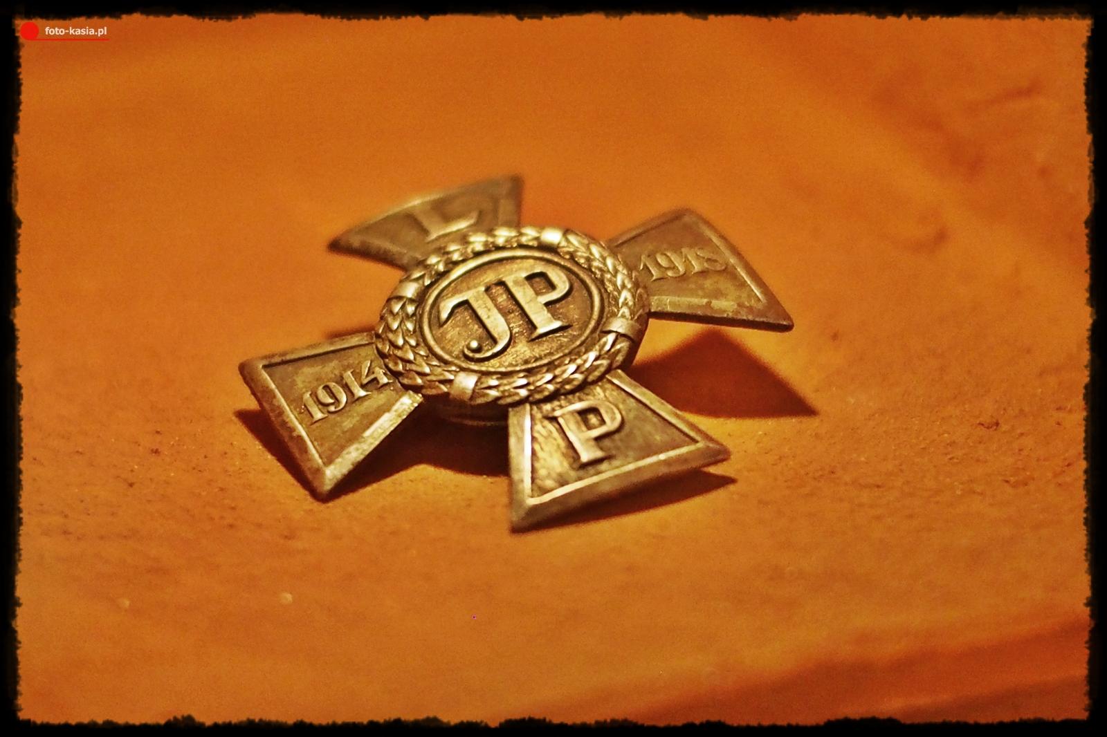 """Odznaka 1 Brygady Legionów """"Za Wierną Służbę"""""""